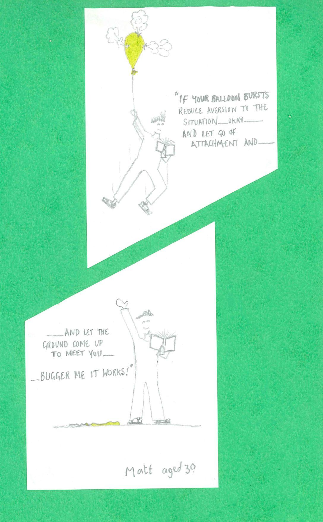 the ground cartoon